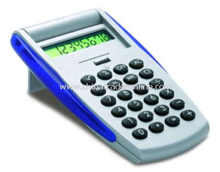 Calculator with auto folding lid (D)