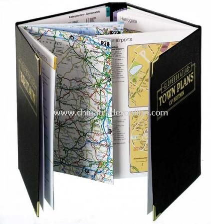 Glove Box Twin Set of A5 Atlas and Town Plans of Great Britain