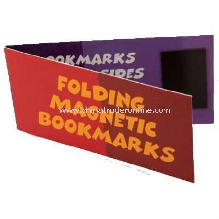 Magnetic Folding Bookmark
