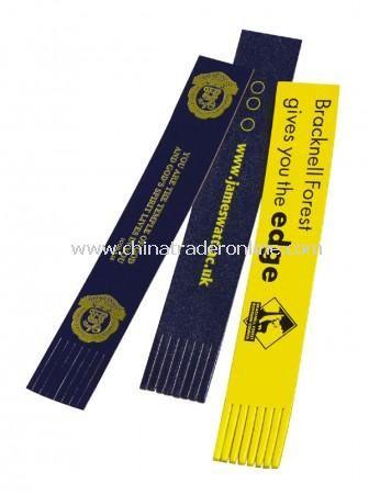 Wide Tassled Bookmark