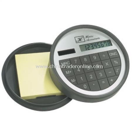 Calculator & Memopad from China