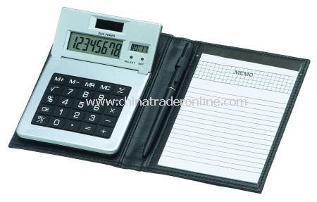 Dual Powered Silver Calculator from China