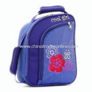 Childrens Lunch Bag Made of 600D Nylon