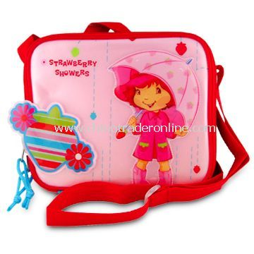 Childrens Lunch Boxes & Cooler Bags, Measuring 22 x 18 x 9cm
