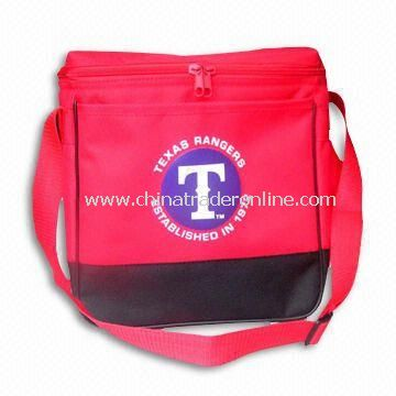 Cooler Bag, Made of 600D Polyester Cloth with PVC