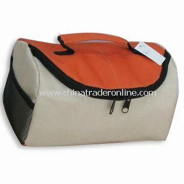 cooler bag Insulated cooler bag with orange top