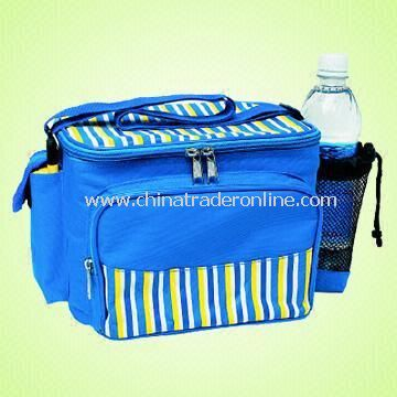 Cooler Bag Made of 70D PVC and EPE Foam with White Lining from China