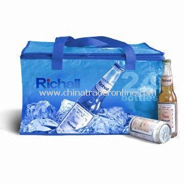 Cooler/Ice Bag, Suitable for Promotion and Gift, Customers Designs are Acceptable