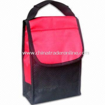 Lunch Bag with Mesh Pocket and Handle