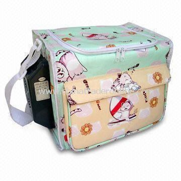Multi-compartment Cooler Bag with Two-way Zipper Top Closure from China