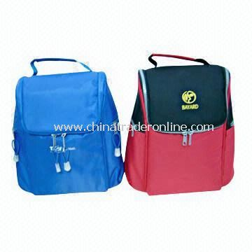 Promotional Cooler/Lunch Bags Made of 420D/600D Nylon in Various Colors