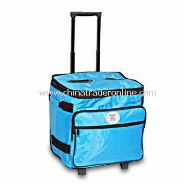 Trolley Cooler Bag, Made of 420D/PVC from China