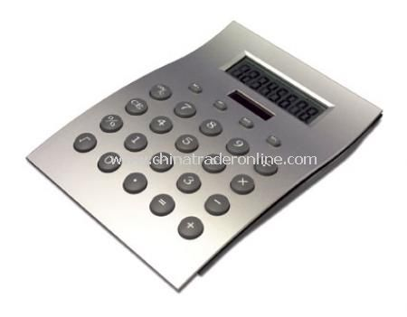 Desk calculator, 8 digits, dual power