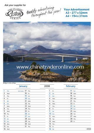 6 Leaf Memo Calendar