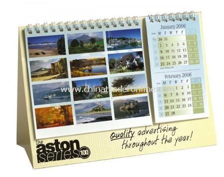 6 Page Desk Calendar