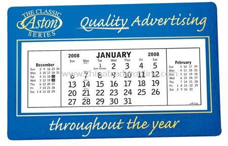 Commercial Desk Calendar