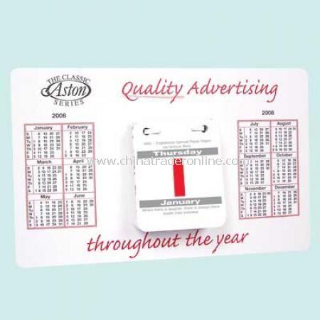 Desk Pad Calendar