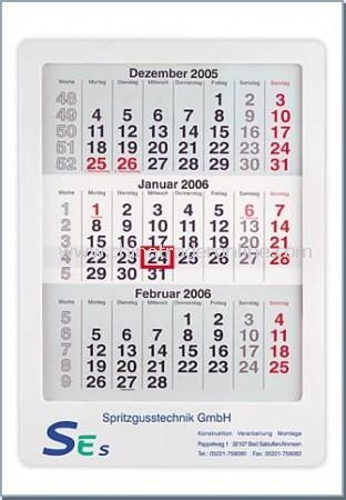 maxi a3 size framed 2 year wall calendar from china