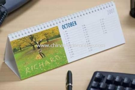 Personalised Desk Calendar