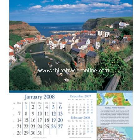 Scenic Britain Calendar