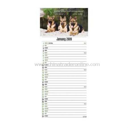 Slimline Engagement Calendar