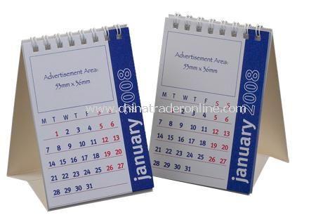 Small Flip Desk Calendar