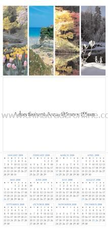 Year to View Wall Calendar