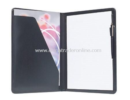Bonded Leather A4 Conference Folder from China