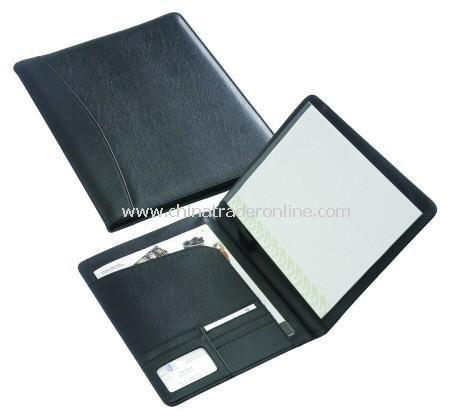Goodwood A4 Black Conference Folder