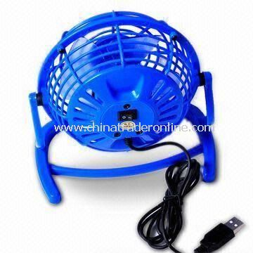 USB Mini Fan, Measuring 63 x 34 x 49cm, Available in Blue Color