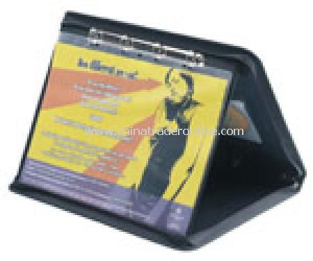 A3 Polyprop Landscape Presentation Case/Easel-Black
