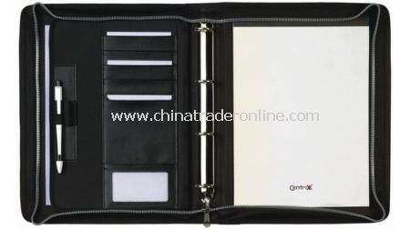 A4 ZIPPER PORTFOLIO DE-LUXE  420d from China
