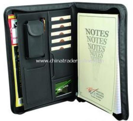 A4 Zipround Folder
