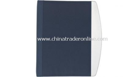 Alu Edge Zipper Portfolio With Ring Binder