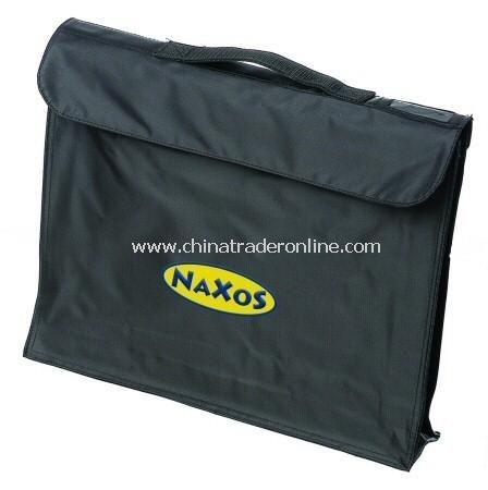 Black Nylon Exhibition Bag