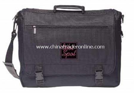 Black Polyester Briefcase