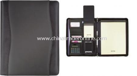 Wave A4 Zipper Portfolio