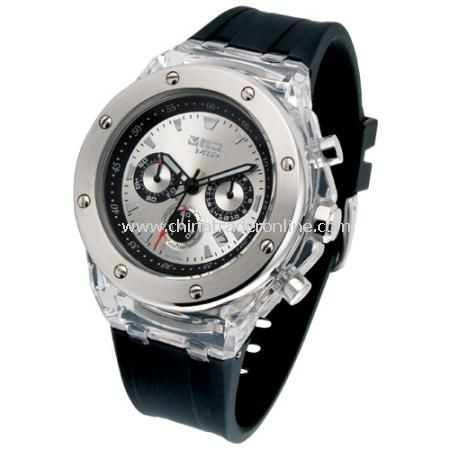 Stylish Chronograph watch with calendar (CHRONO)