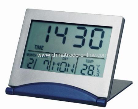 Foldable Alarm Clock