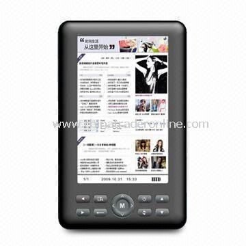 5-inch E-book Reader with TFT Screen, Supports Recent Reading Memory