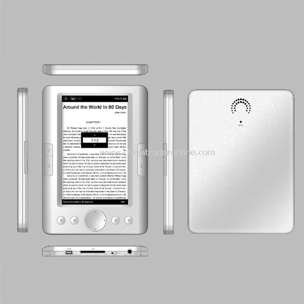 5 inch TFT screen E-book Reader