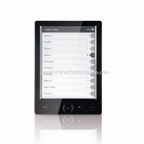 6 inch ebook reader