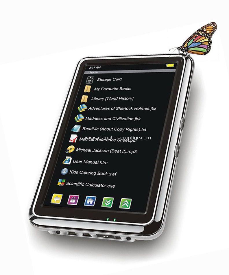 7 inch color TFT LCD E book reader