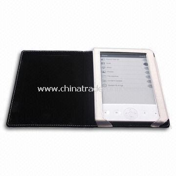 Digital E-book Reader with E-ink Display Technology and G-sensor Function
