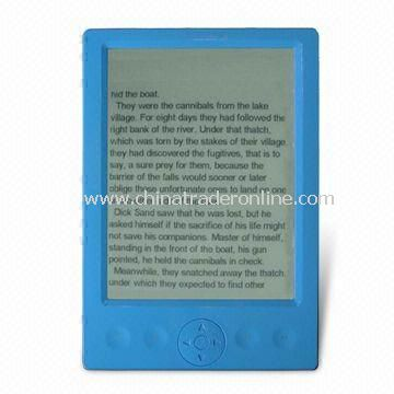E-book Reader with 6.0-inch Display and 800 x 600 Pixels Resolution