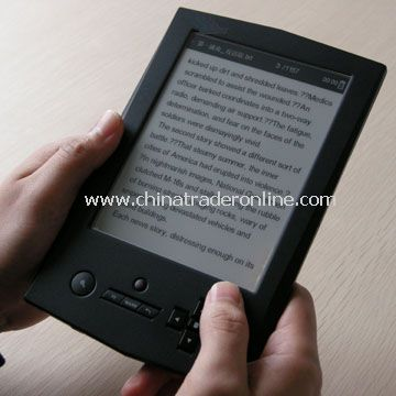 Ebook reader with wifi