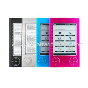 Metal Shell Ebook Reader - 6 Inch, E-Ink Display,4 Colors Available