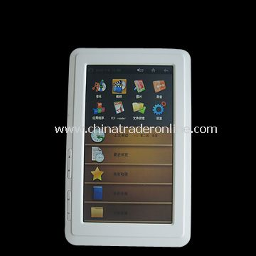 TFT E Book Reader from China