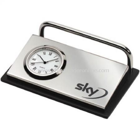 Clock/Card Holder