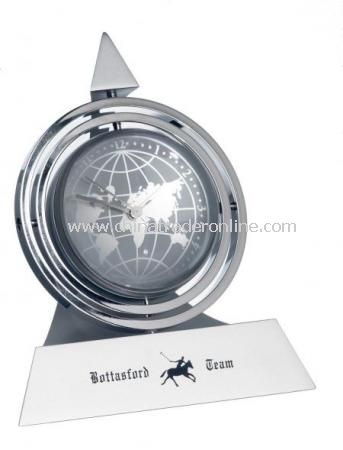 Pyramid Gyro Clock from China